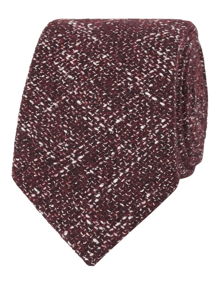 Barberis Burgundy Flecked Slim Tie image 1