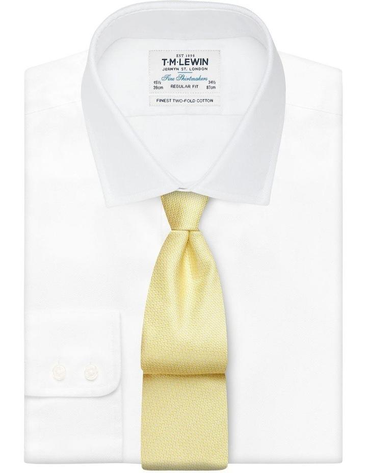Yellow Micro Wave Silk Tie image 2