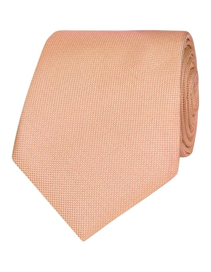 Orange Panama Silk Tie image 1