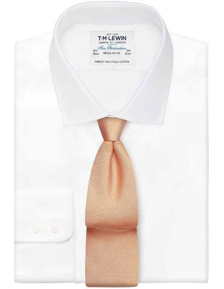 Orange Panama Silk Tie image 2