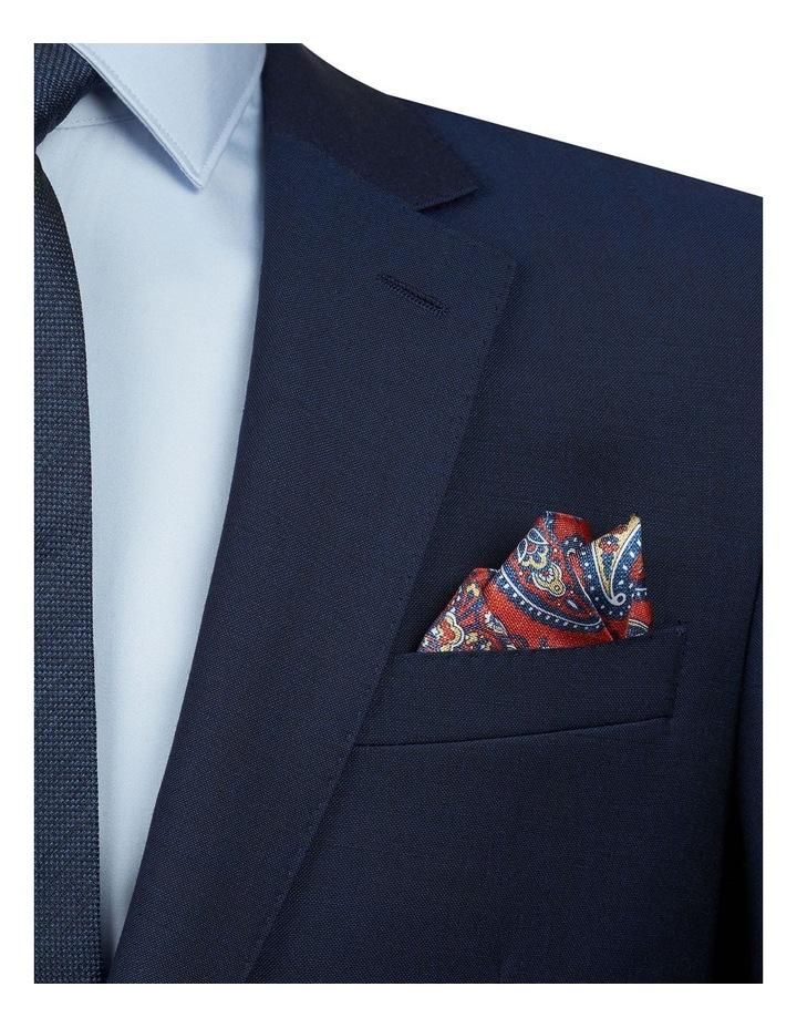 Textured Paisley Print Handkerchief image 2