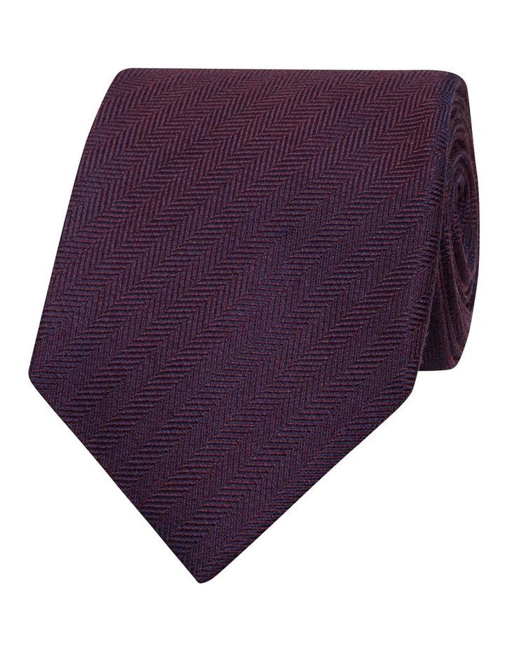 Plain Heringbone Tie image 1