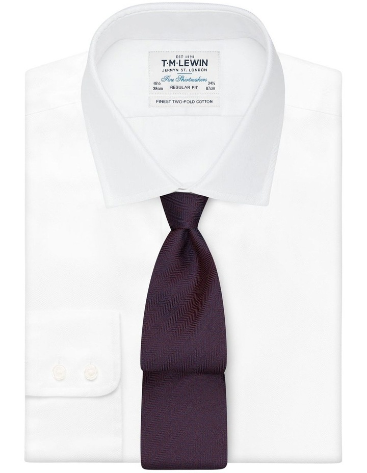 Plain Heringbone Tie image 2