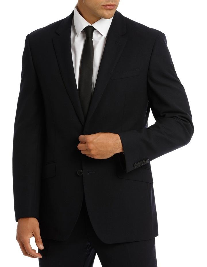 Kennington Dark Navy Plain Suit Jacket image 1
