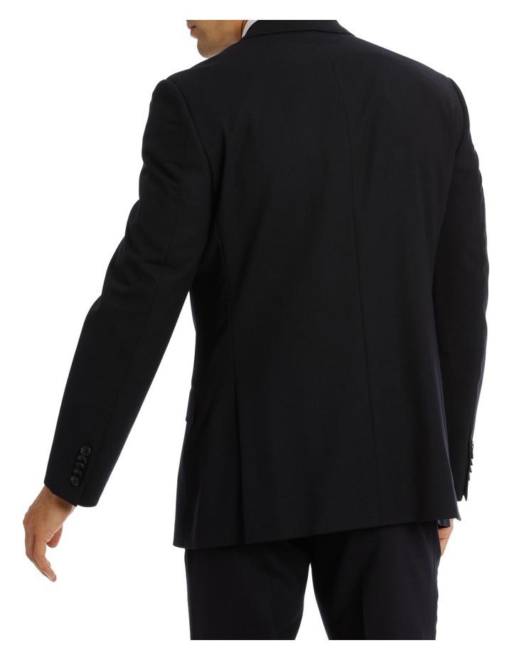 Kennington Dark Navy Plain Suit Jacket image 3
