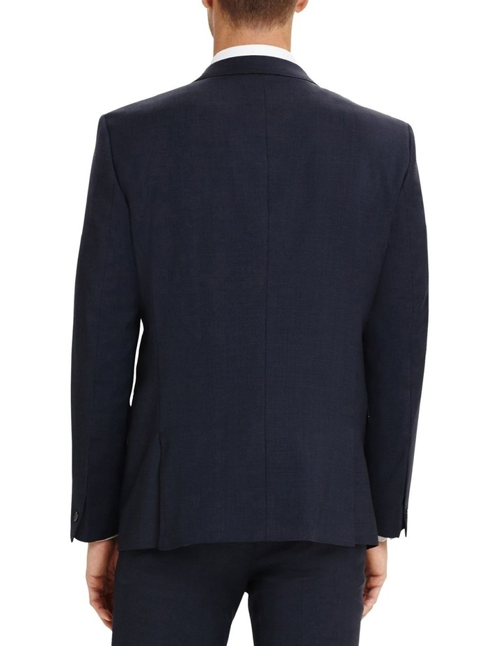 Finchley Blue Textured Pin Dot Skinny Fit Power Stretch Jacket image 2