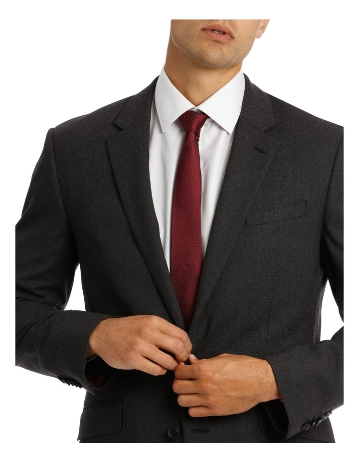 Edgware Charcoal Slim Fit Infinity Suit Jacket image 4