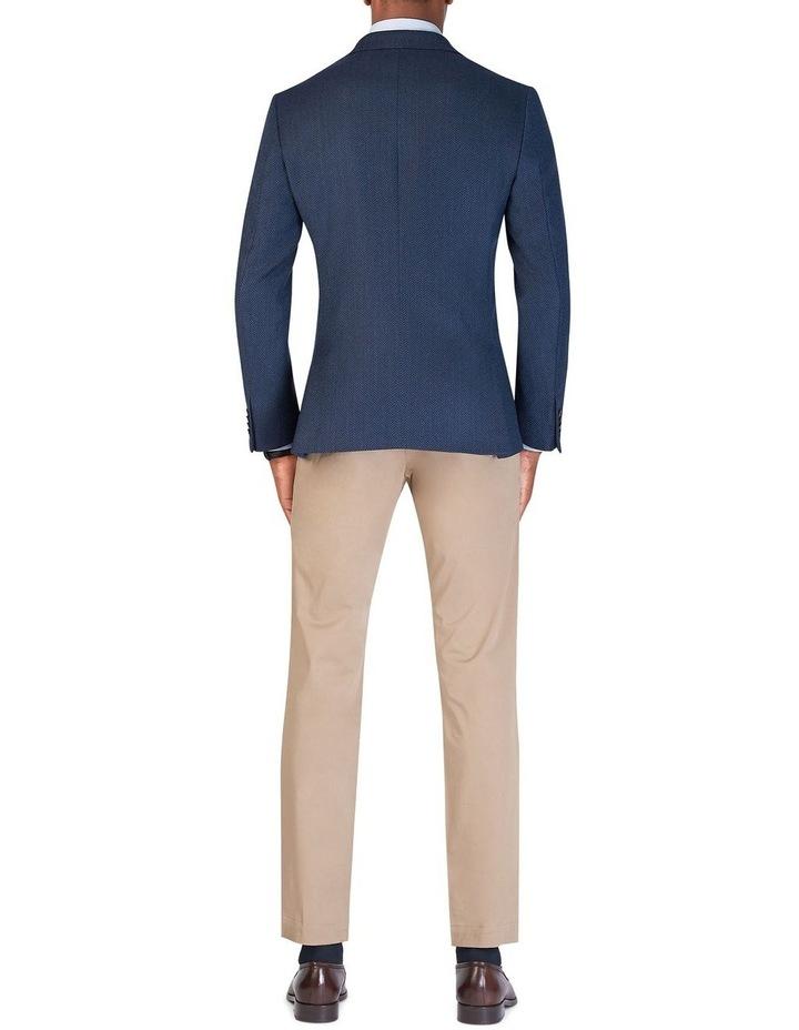 Ferriano Jacket in Blue Herringbone Lanificio Campore Wool Cashmere image 2