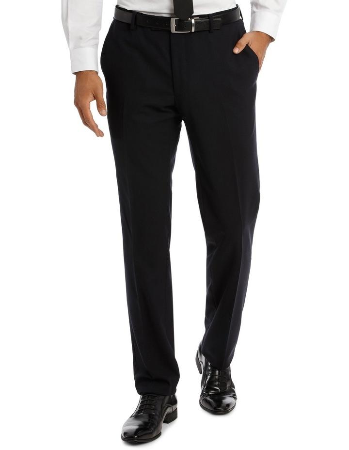 Kennington Dark Navy Plain Suit Trouser image 1