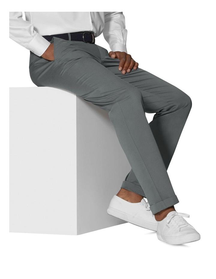 Radcliffe Grey Italian Cotton Stretch Chino image 2