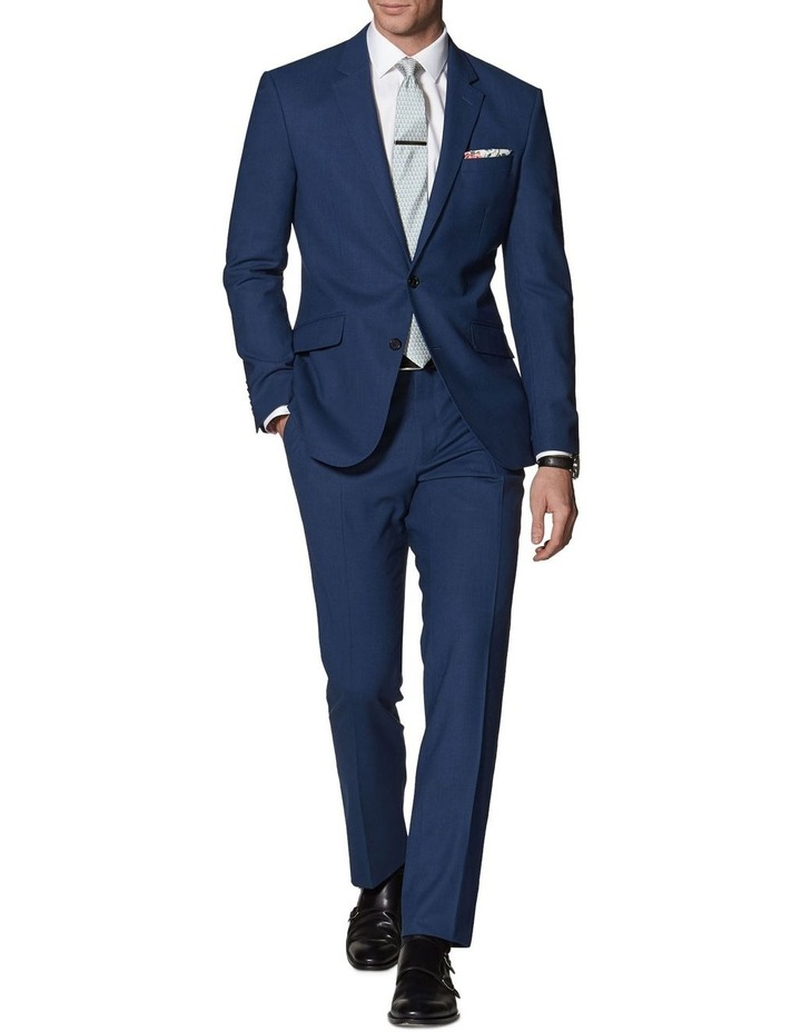 Hamilton Blue Slim Fit Infinity Trousers image 1