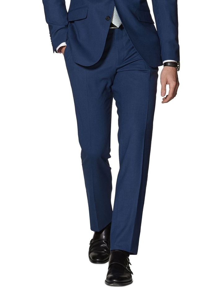 Hamilton Blue Slim Fit Infinity Trousers image 3