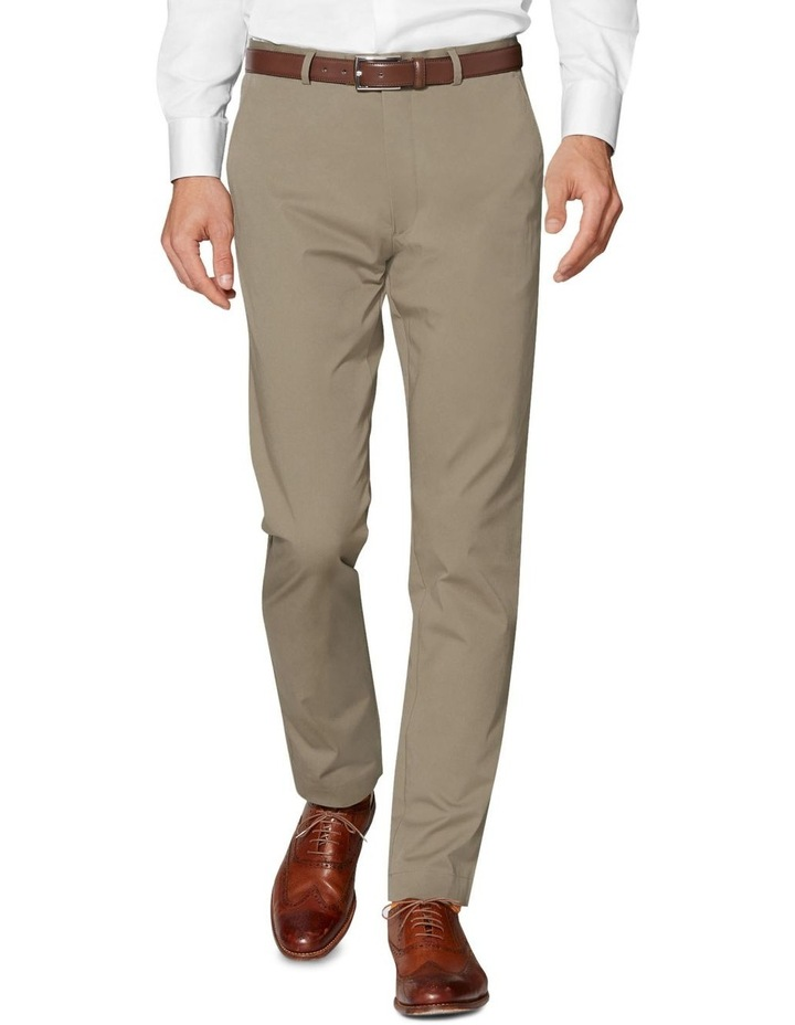 Radcliffe Camel Italian Cotton Stretch Chino image 1