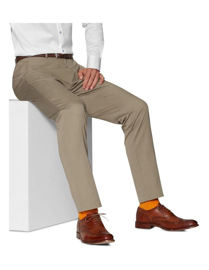 Radcliffe Camel Italian Cotton Stretch Chino image 3