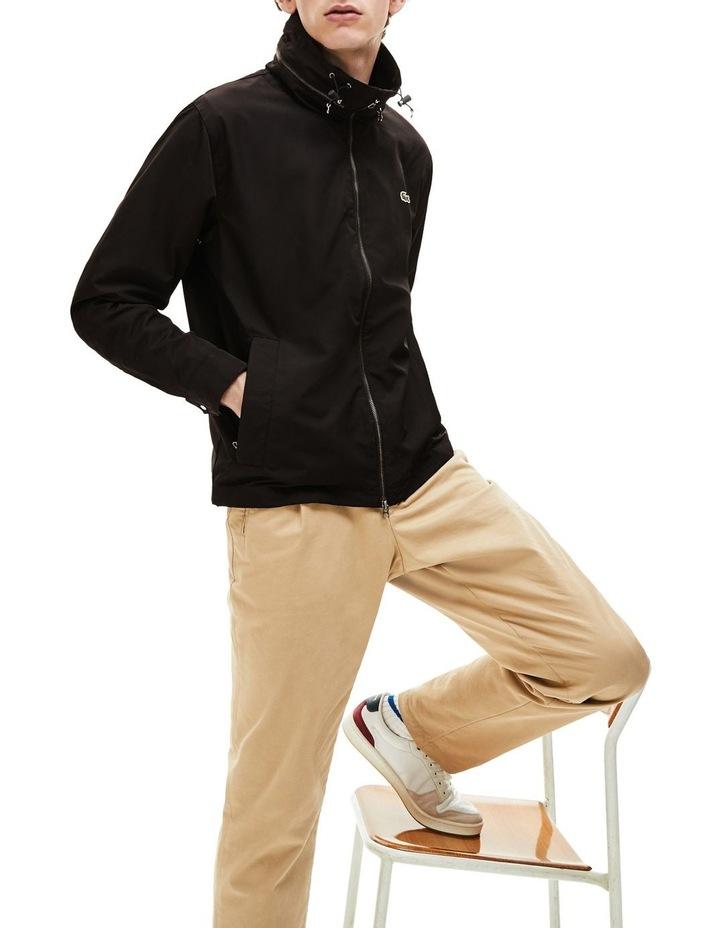 Classic Windbreaker Jacket Black image 3