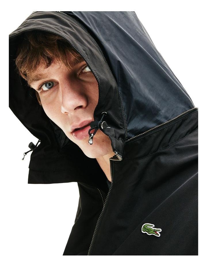 Classic Windbreaker Jacket Black image 5