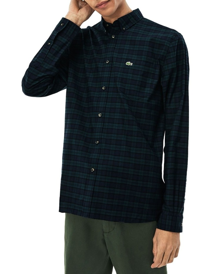 Twill Check Long Sleeve Shirt image 1