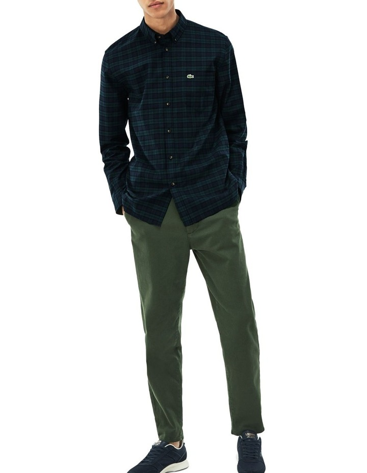 Twill Check Long Sleeve Shirt image 2