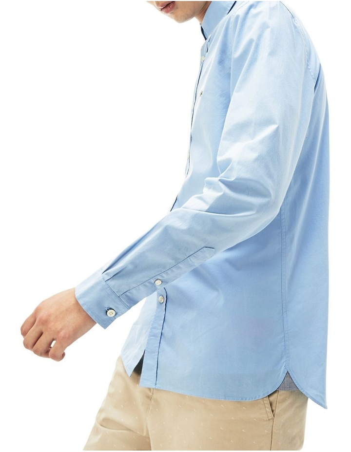Slim Fit Stretch Popelin Shirt image 3