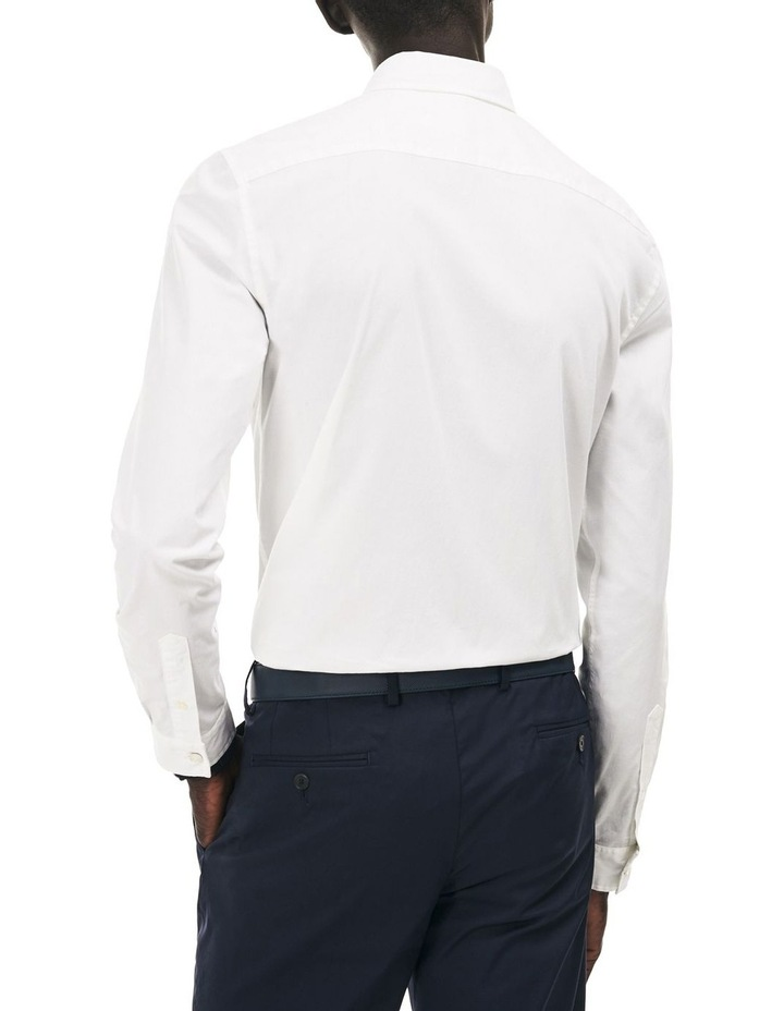 Slim Fit Stretch Popelin Shirt image 2