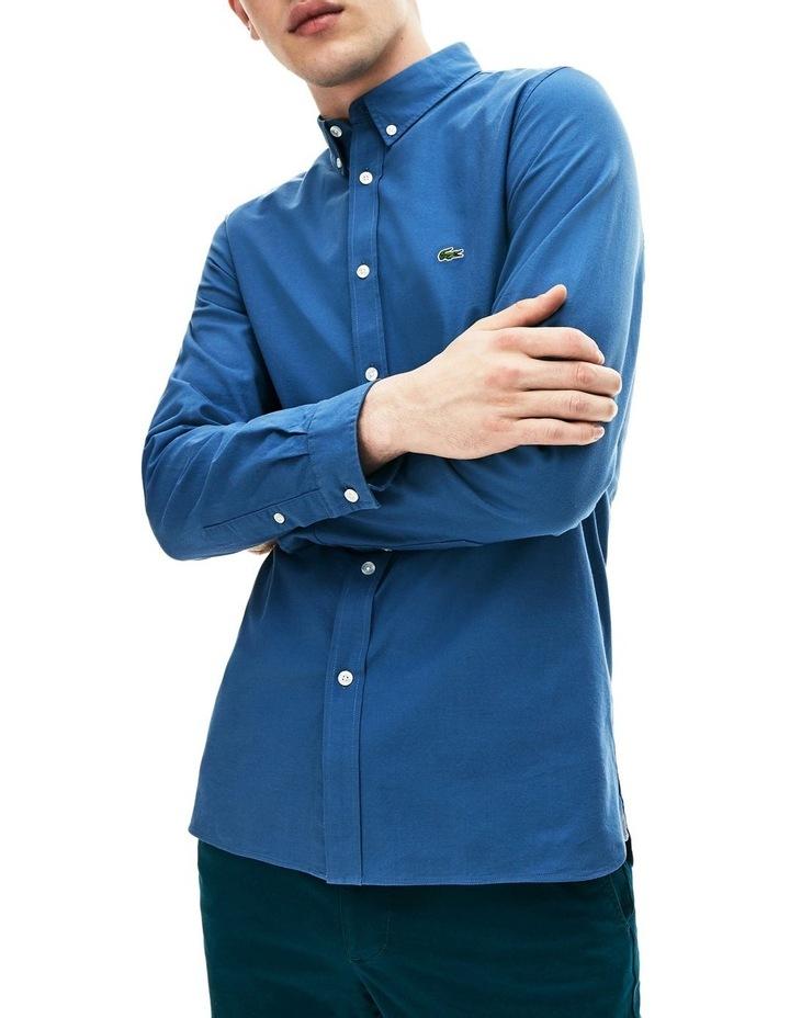 Classic Slim Stretch Oxford Long Sleeve Shirt image 1