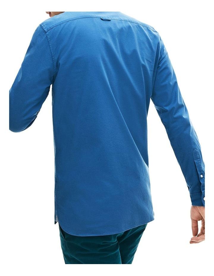 Classic Slim Stretch Oxford Long Sleeve Shirt image 2