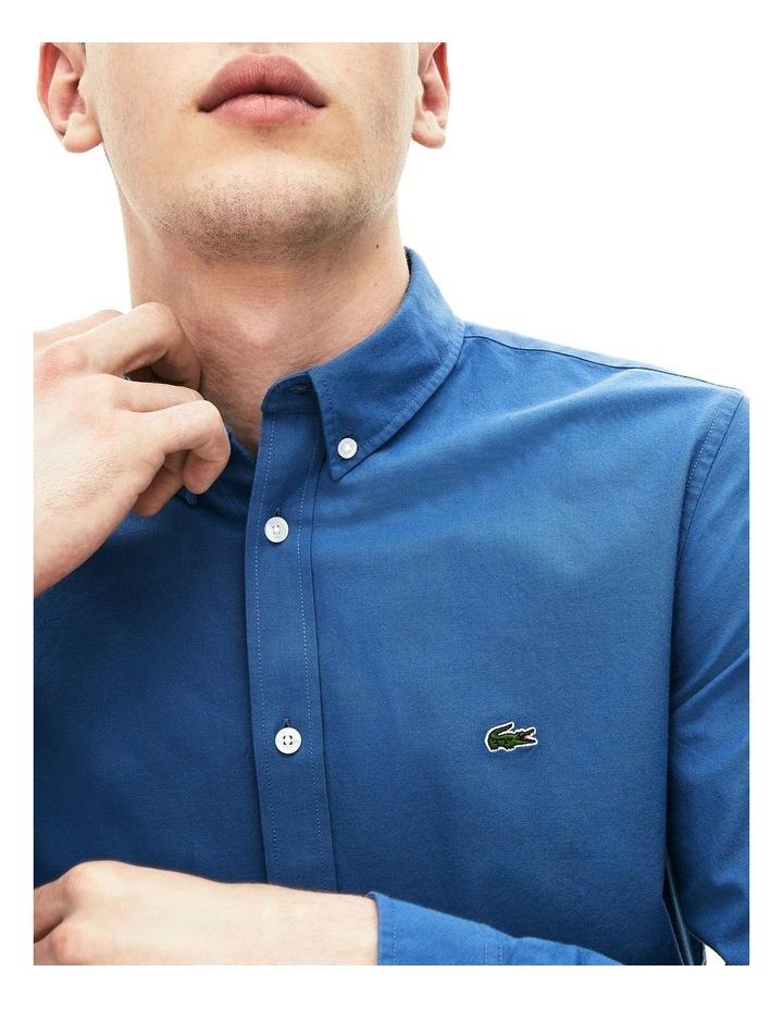 Classic Slim Stretch Oxford Long Sleeve Shirt image 3