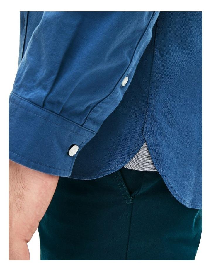 Classic Slim Stretch Oxford Long Sleeve Shirt image 5