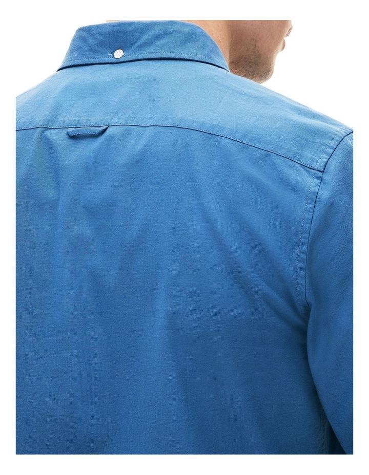 Classic Slim Stretch Oxford Long Sleeve Shirt image 6