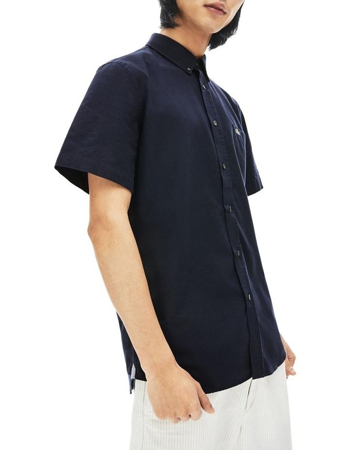 Reg Fit Oxford Short Sleeve Shirt image 5
