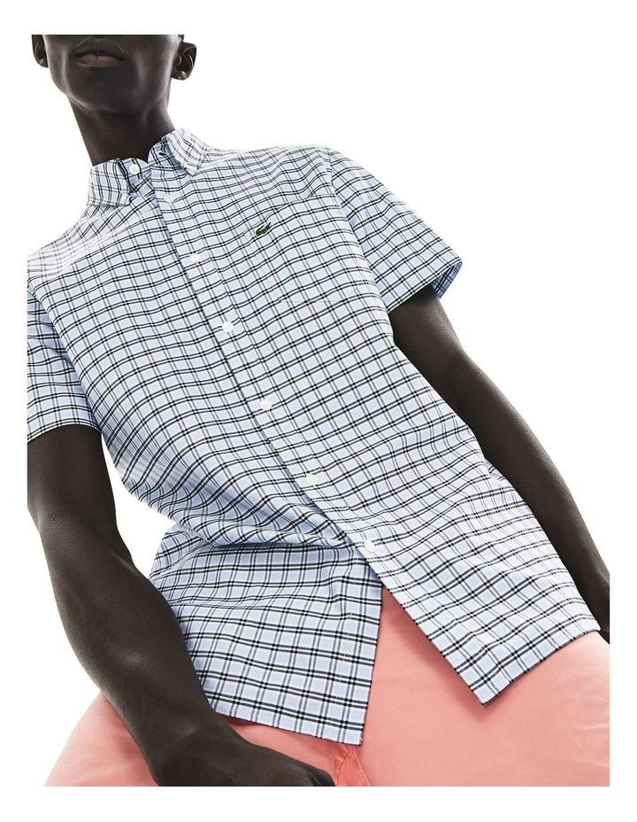 Reg Fit Oxford Check Short Sleeve Shirt image 1