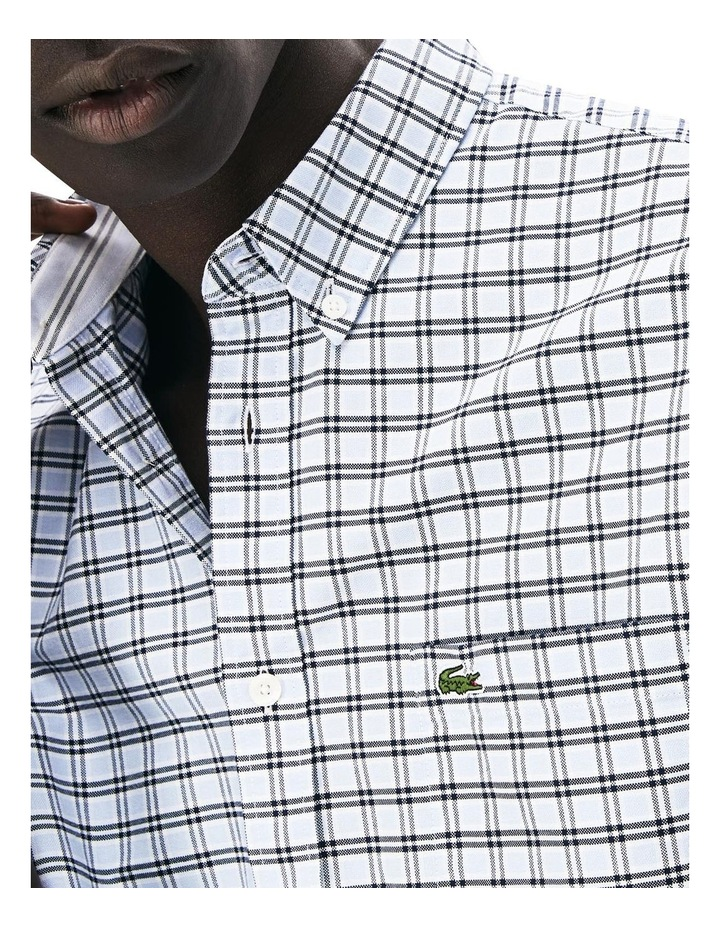 Reg Fit Oxford Check Short Sleeve Shirt image 2