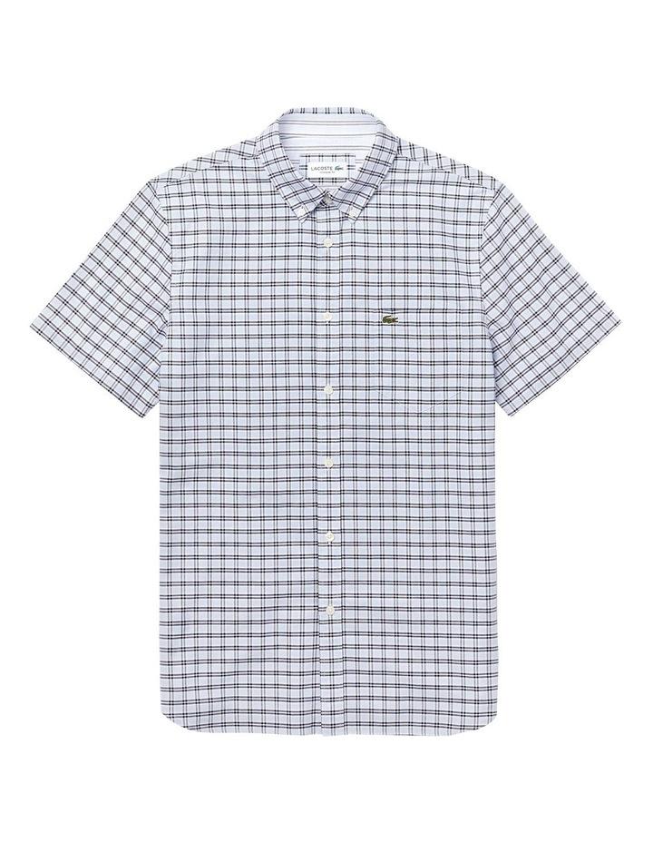 Reg Fit Oxford Check Short Sleeve Shirt image 3