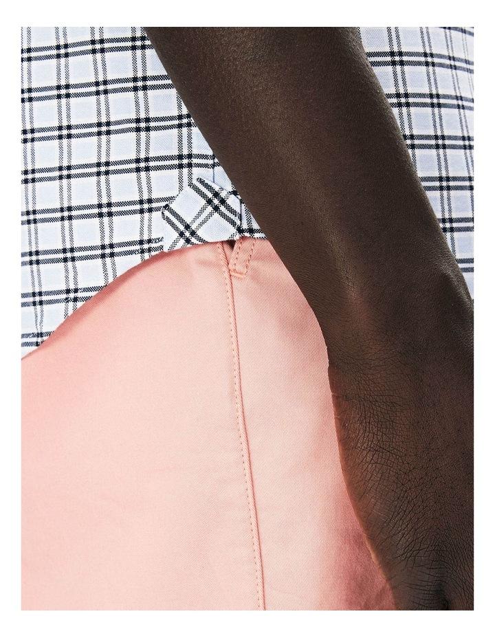 Reg Fit Oxford Check Short Sleeve Shirt image 4