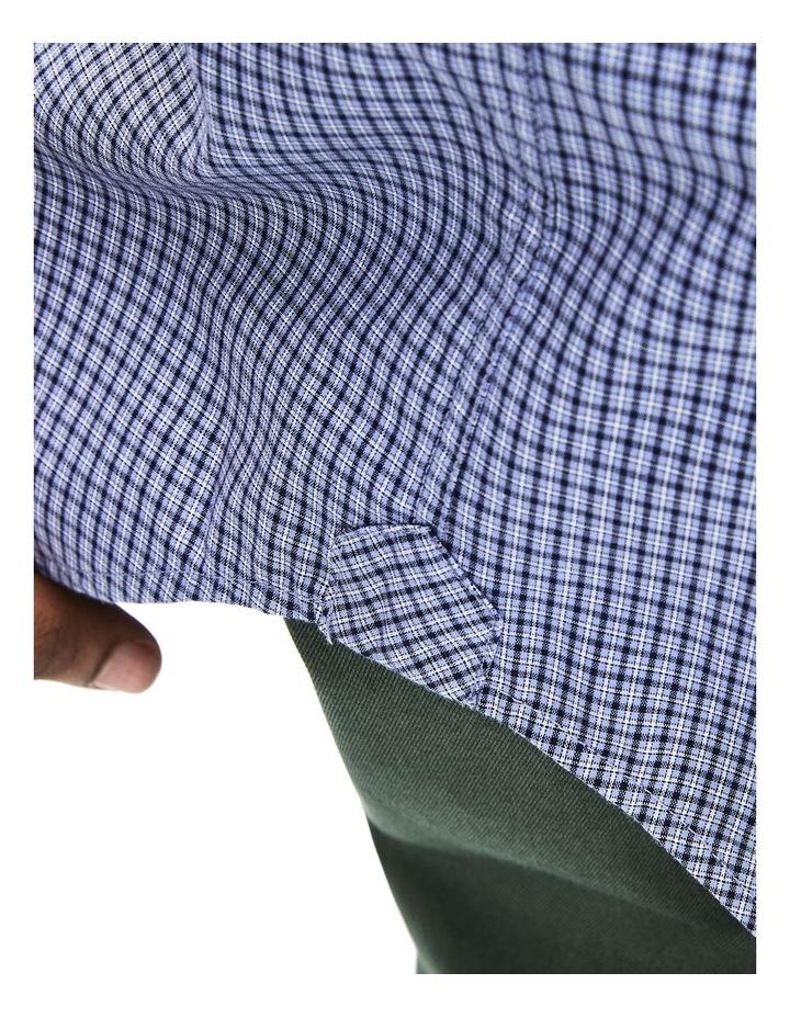 Regular Fit Gingham Poplin Short Sleeve Shirt image 6