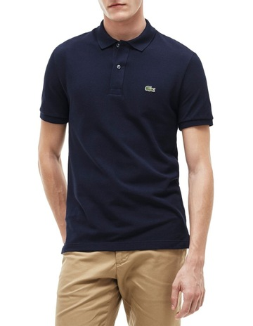 7008a1f1362416 Lacoste Basic Slim Fit Polo