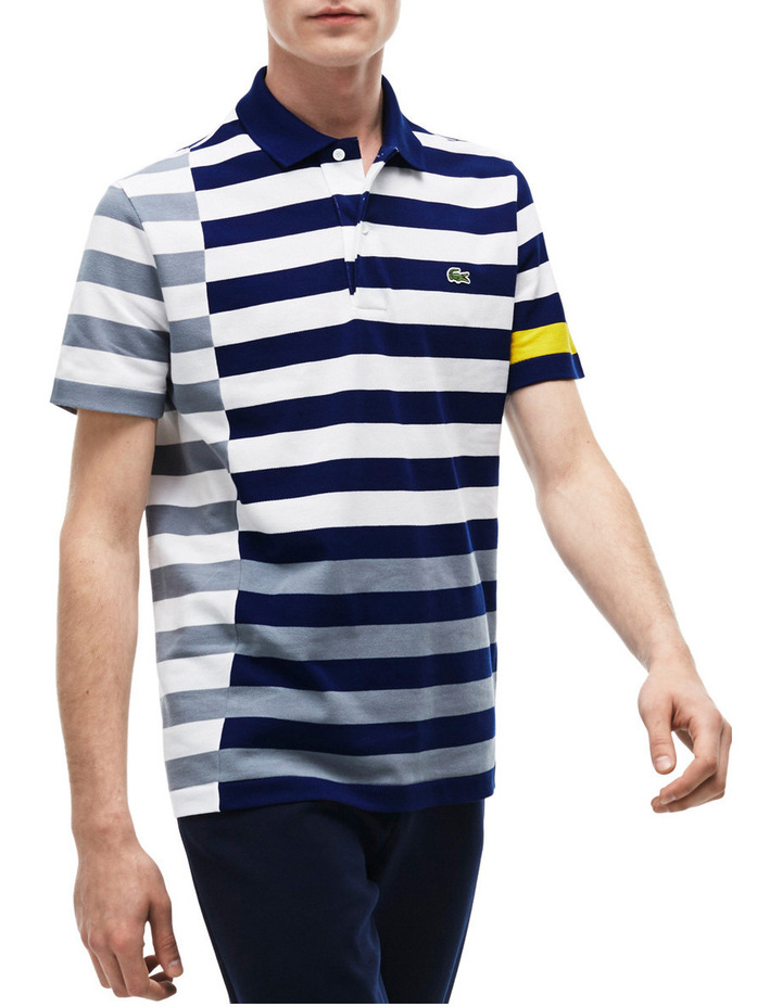 Disconnected Stripe Polo image 1
