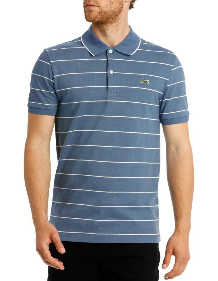 Slim Fit Stripe Polo image 1