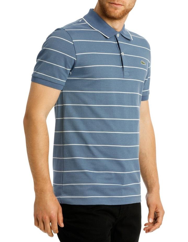 Slim Fit Stripe Polo image 2