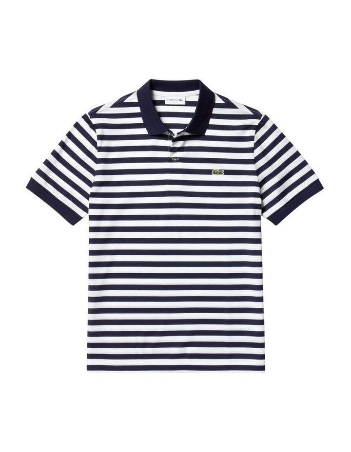 Slim Mercerised Stripe Polo image 4