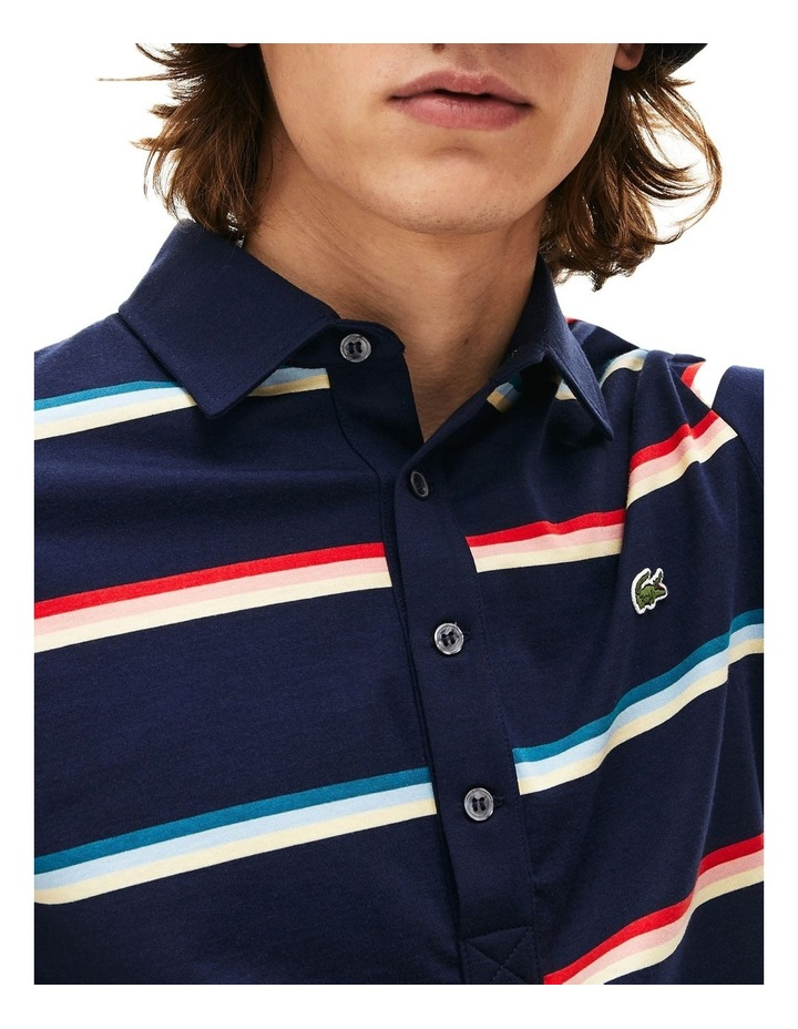 Rainbow Stripe Polo image 3