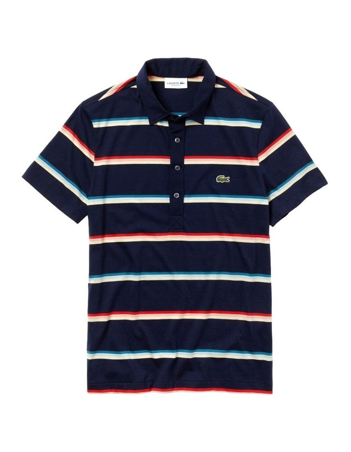 Rainbow Stripe Polo image 5