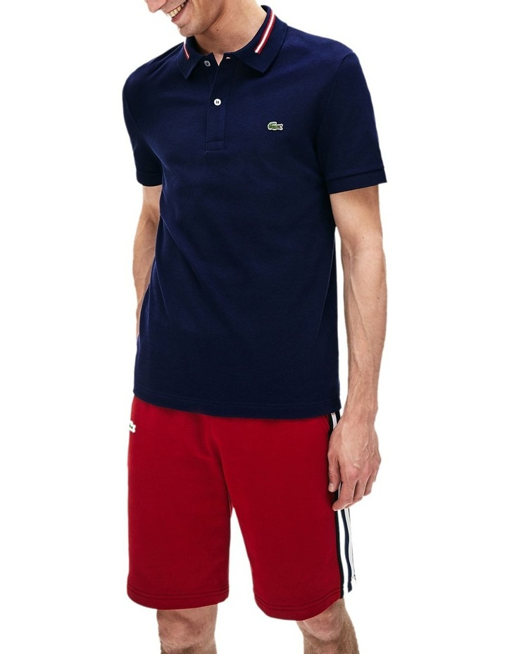 Classic Slim Fit Tipped Collar Polo image 1