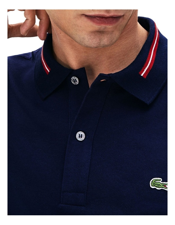 Classic Slim Fit Tipped Collar Polo image 2
