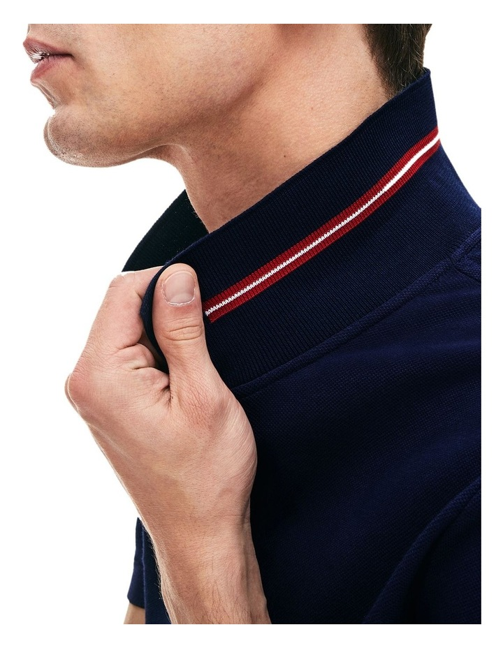 Classic Slim Fit Tipped Collar Polo image 6