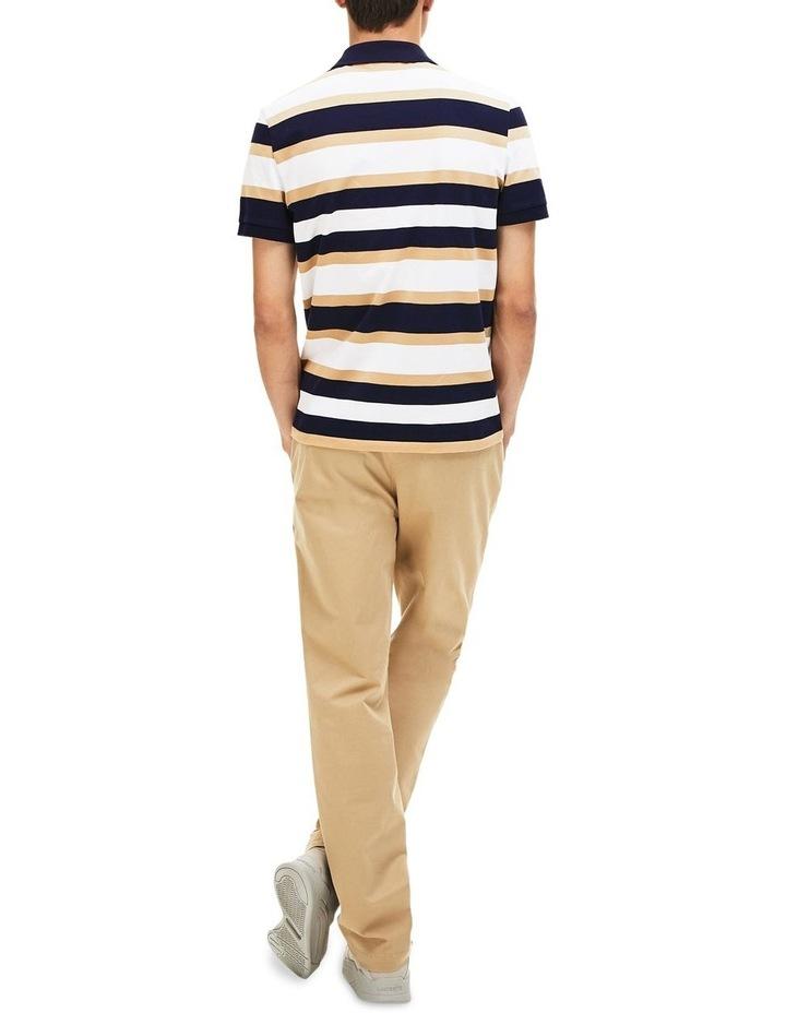 Golden Week Reg Fit Stripe Polo image 3