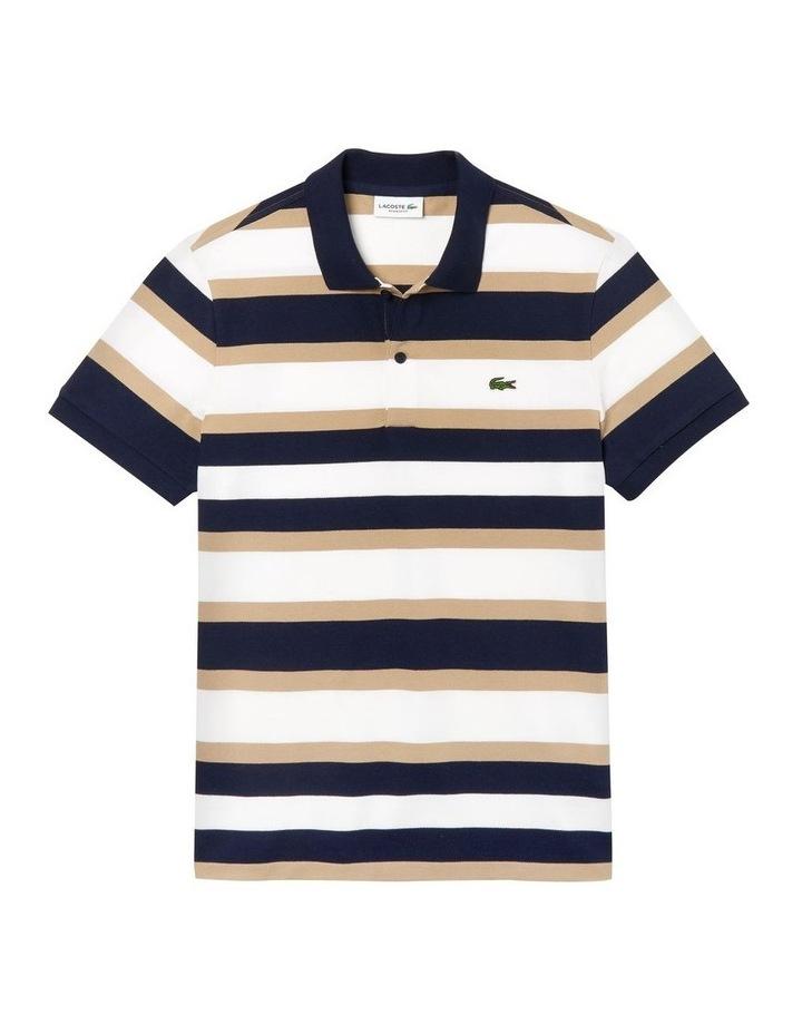 Golden Week Reg Fit Stripe Polo image 4