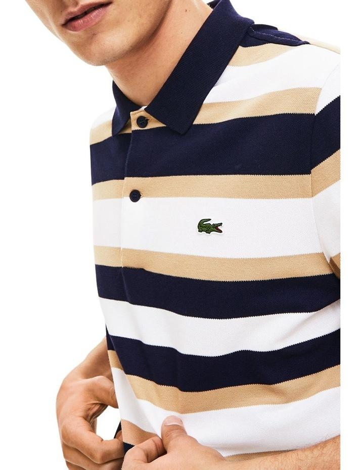 Golden Week Reg Fit Stripe Polo image 5