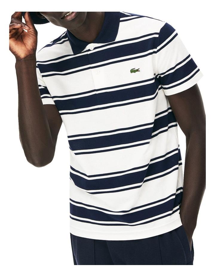 Slim Fit Classic Stripe Polo image 1