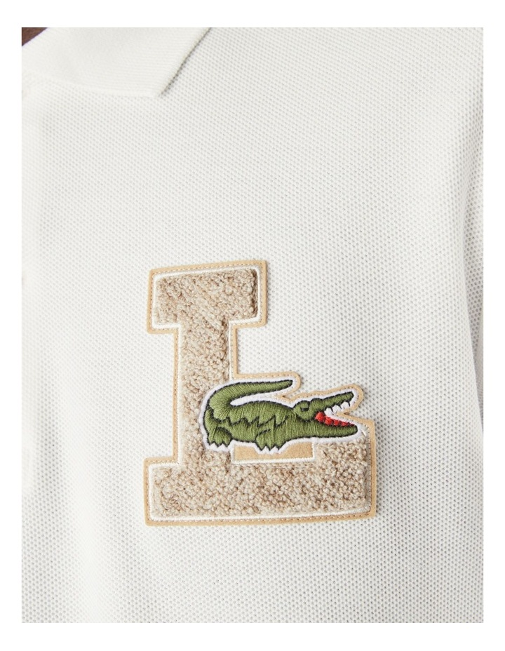 Graphic Long Sleeve Polo image 4